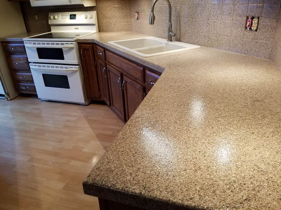 epoxy kitchen countertop resurfacing