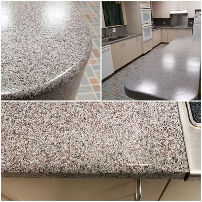 kitchen countertop epoxy resurfacing