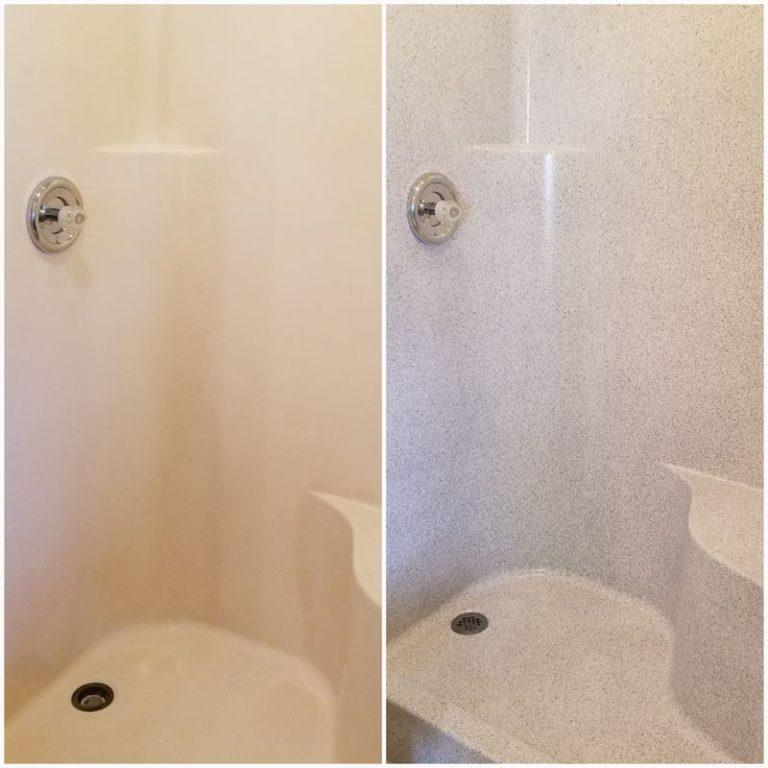 Fibergl Shower Resurfacing Renew