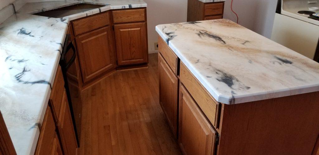 epoxy kitchen countertop resurfacing omaha