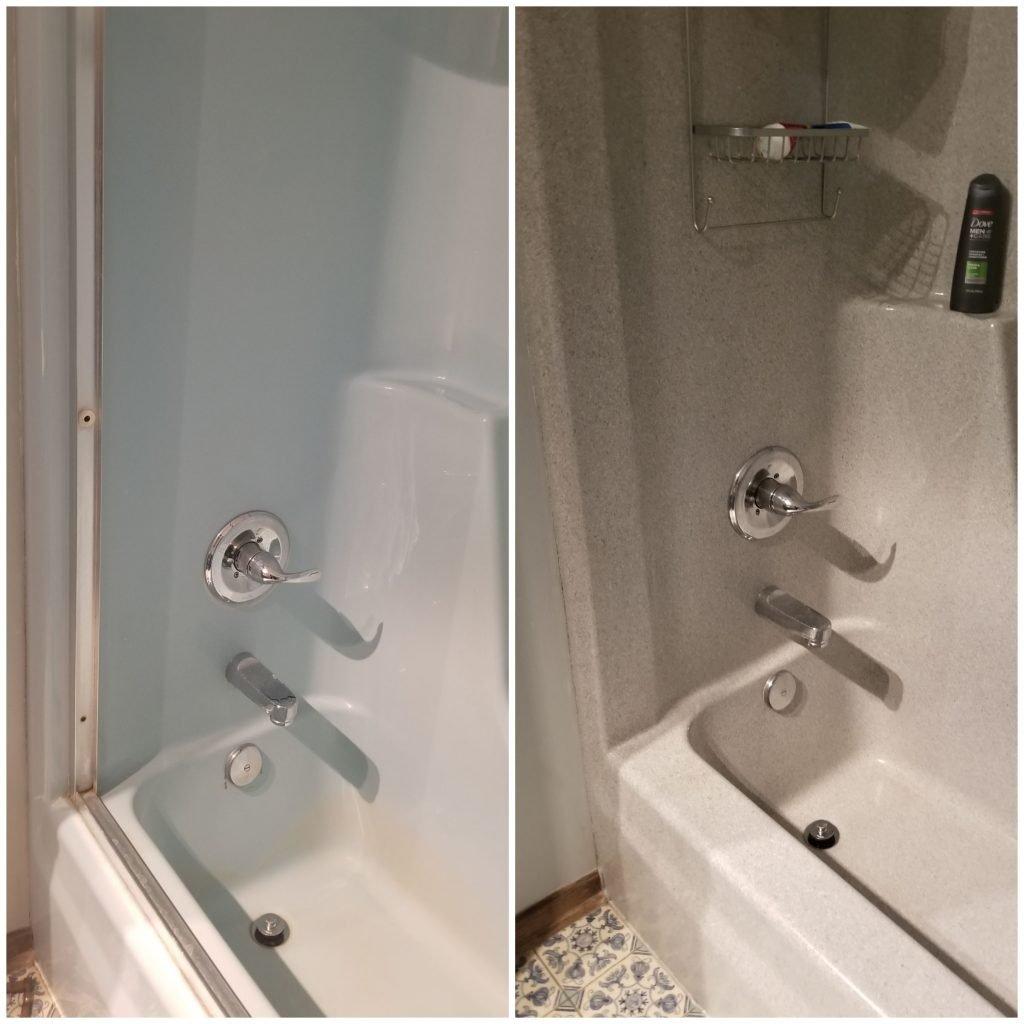 Fiberglass Shower Resurfacing Renew Resurfacing
